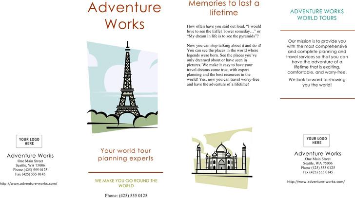 Travel Brochure 1