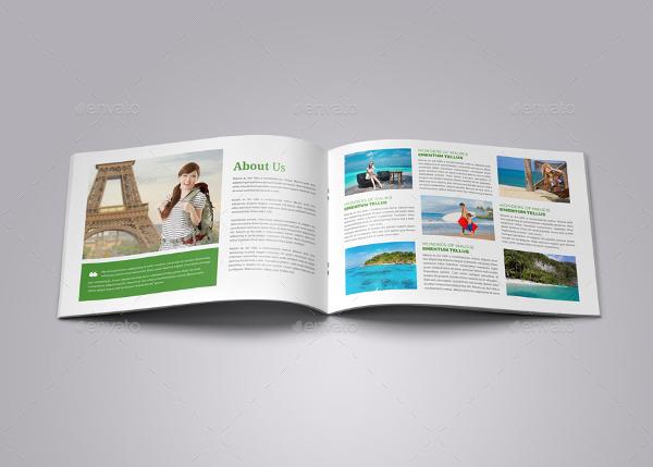Travel Brochure Catalog InDesign Template v6