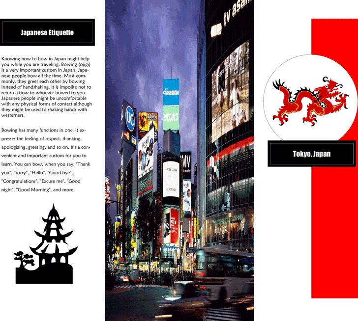 Travel Brochure Example 1