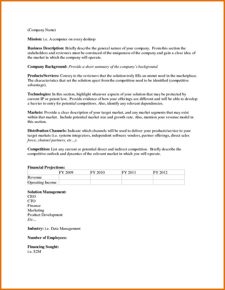33 executive summary template free download travel executive summary template accmission Images