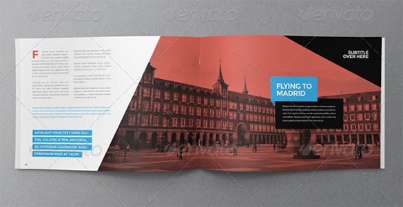 Travel Modern Brochure Template - $18
