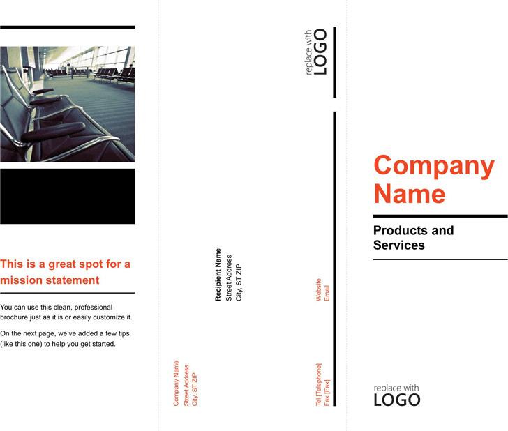 Tri-Fold Business Brochure Template 2
