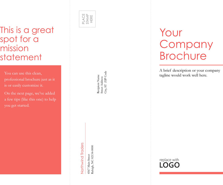 Tri-Fold Business Brochure Template 3