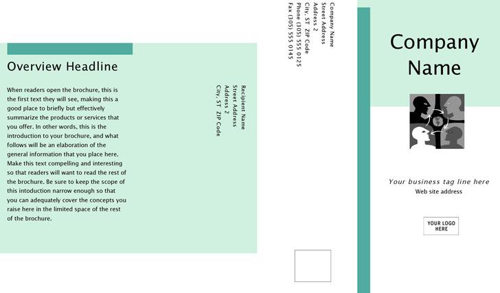 Tri-Fold Business Marketing Brochure