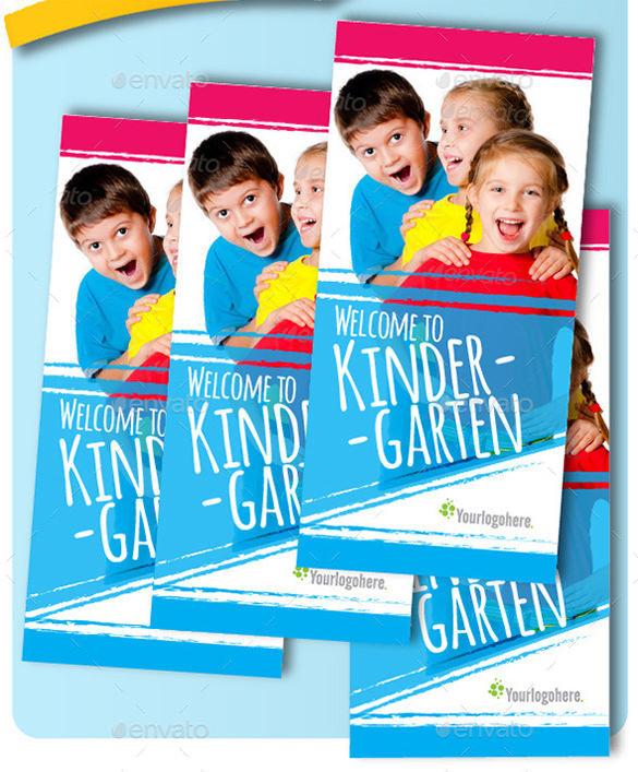 Tri-Fold Kindergarten Brochure