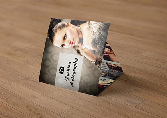 Tri-fold Professional Photography Brochure