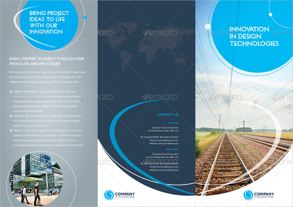 19 brochure layout template free download