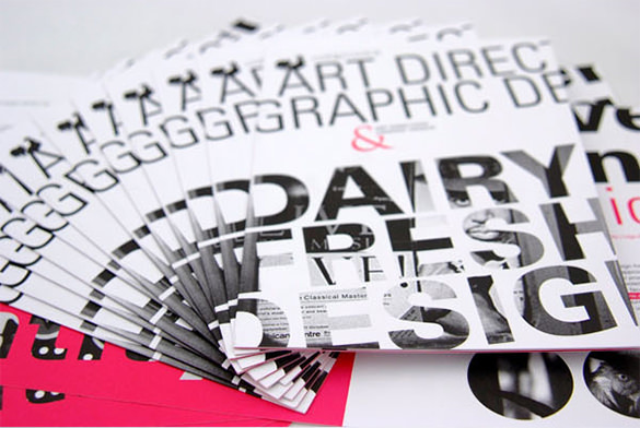 Typography Creative Brochure Besign Template