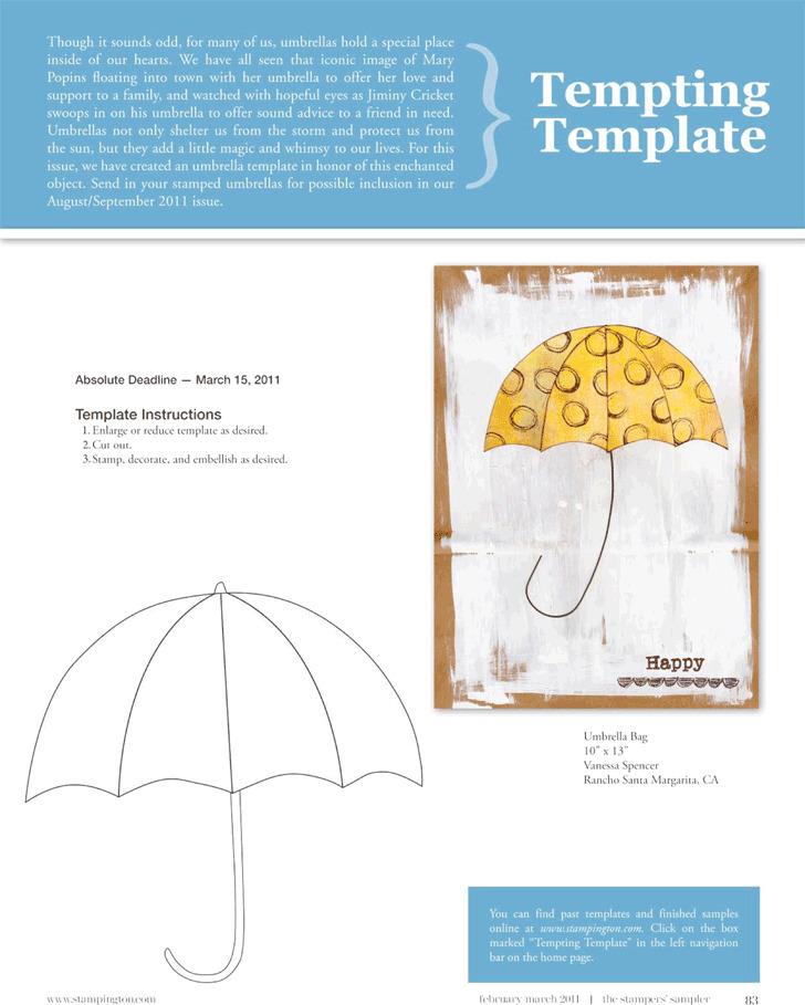 Umbrella Template 2