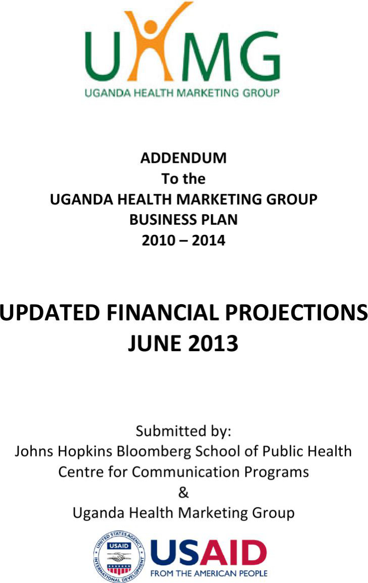 Updated Financial Projections