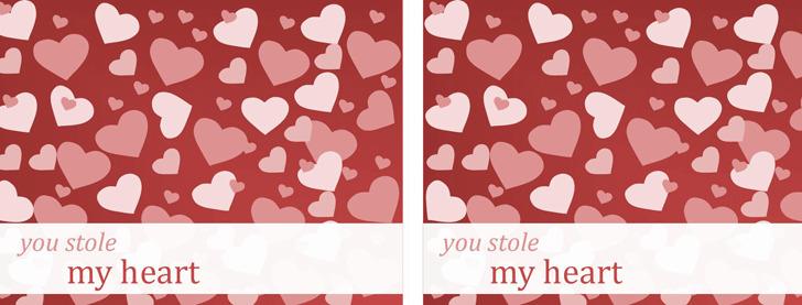 Valentine Note Cards