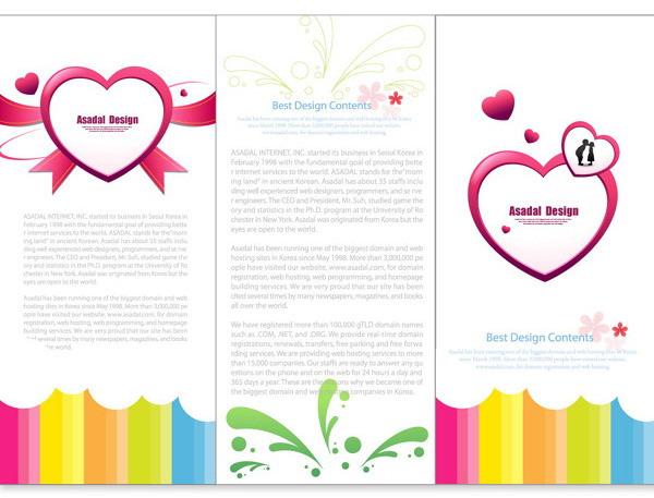 Valentine's Day Brochure Design