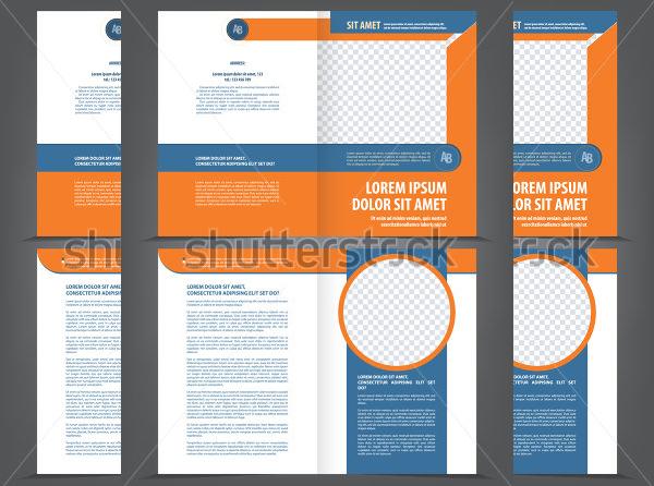 11 blank bi fold brochure template free download