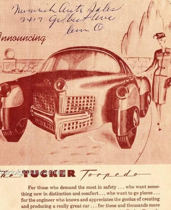 Very Vintage Car Brochuure