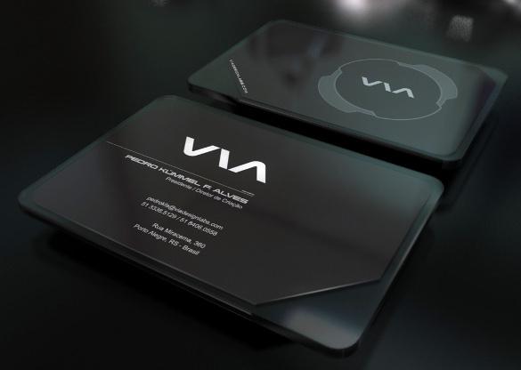 VIA Business Card Download