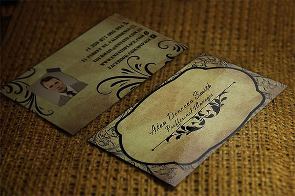 Vintage Business Card 1
