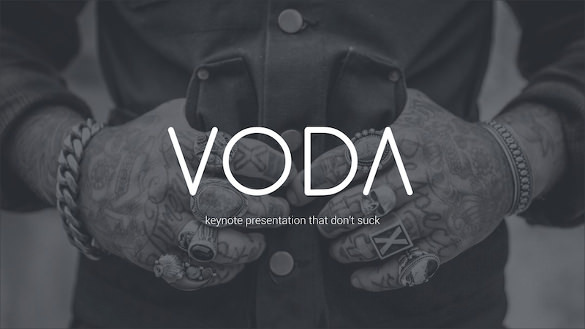 Voda - Creative Mordern Powerpoint Template Download