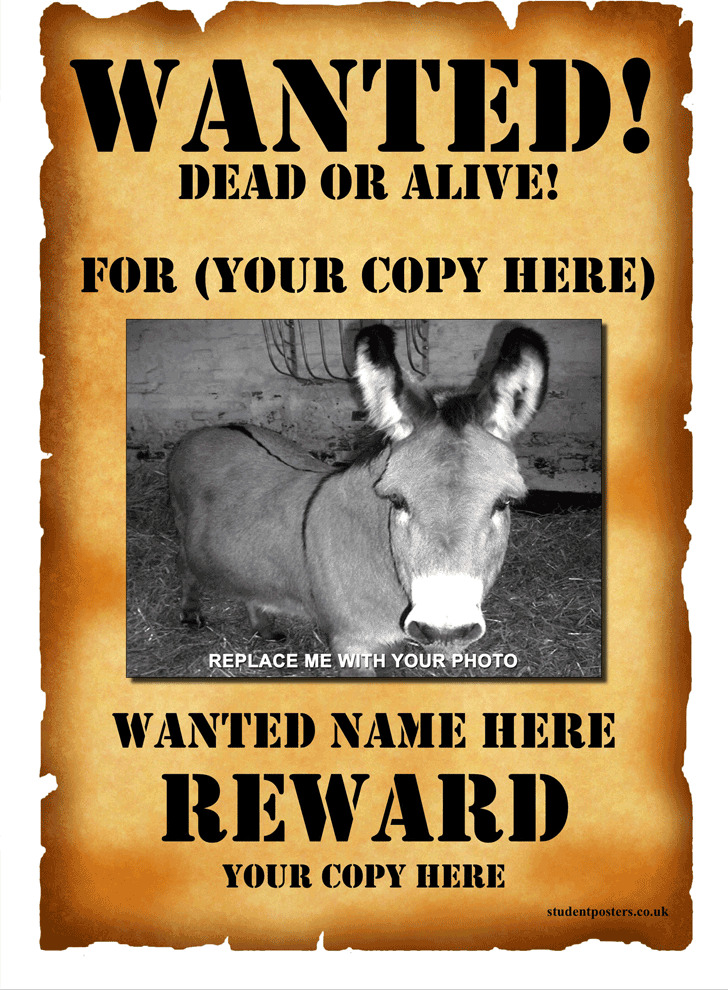 3 wanted poster template free download wanted poster template 1 maxwellsz
