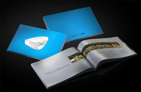 Waterfront Brochure Template