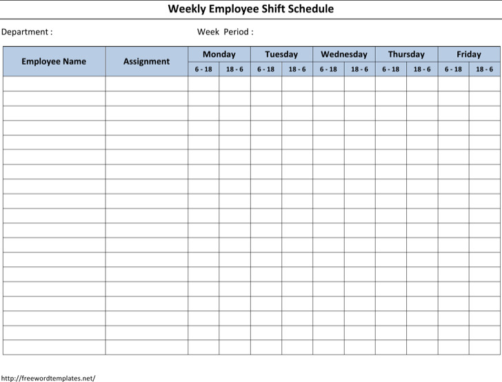 great 12 hour shift schedule template images   12 hour