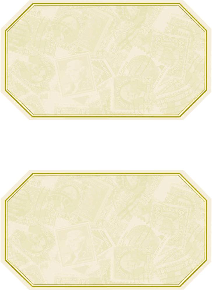 Wine Label Template 2