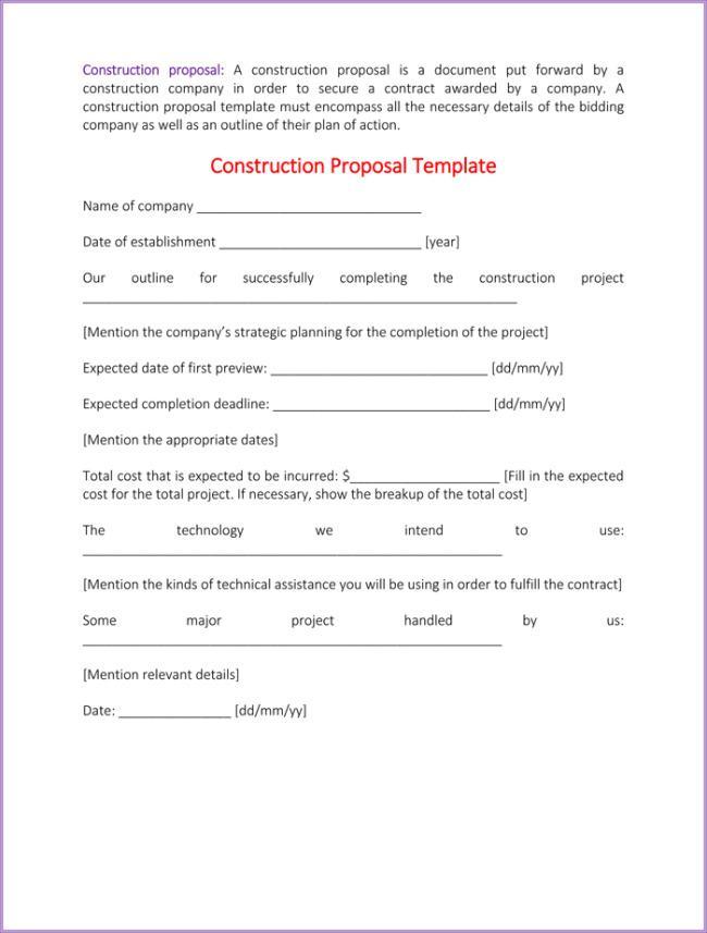 37 Proposal Templates Free Download