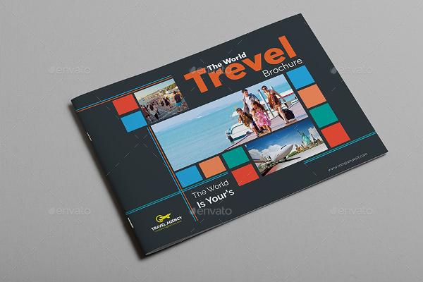 World Travel Brochure Catalog Template