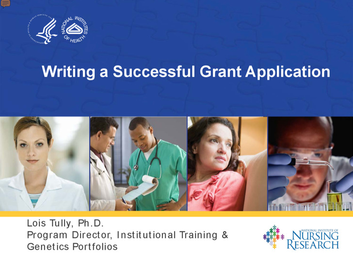 Writing A Successful Grant Application Example