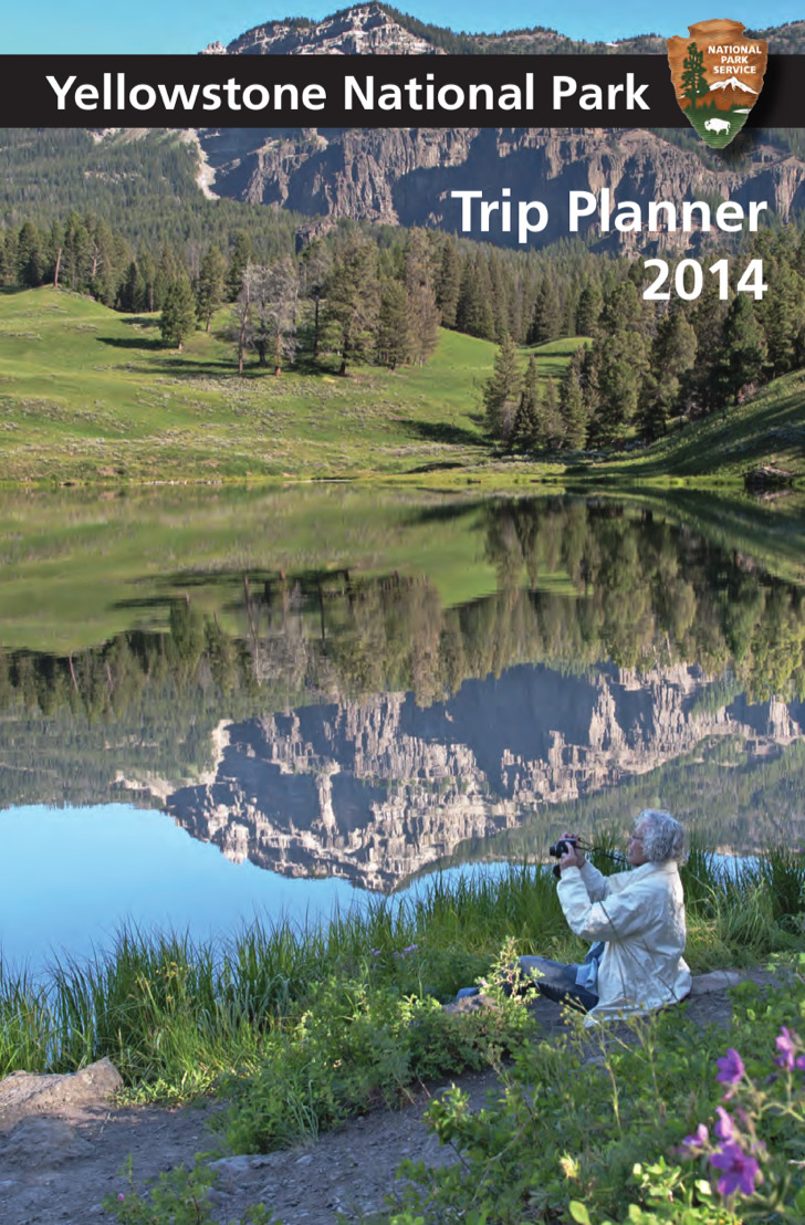 Yellowstone National Parktrip Planner Template