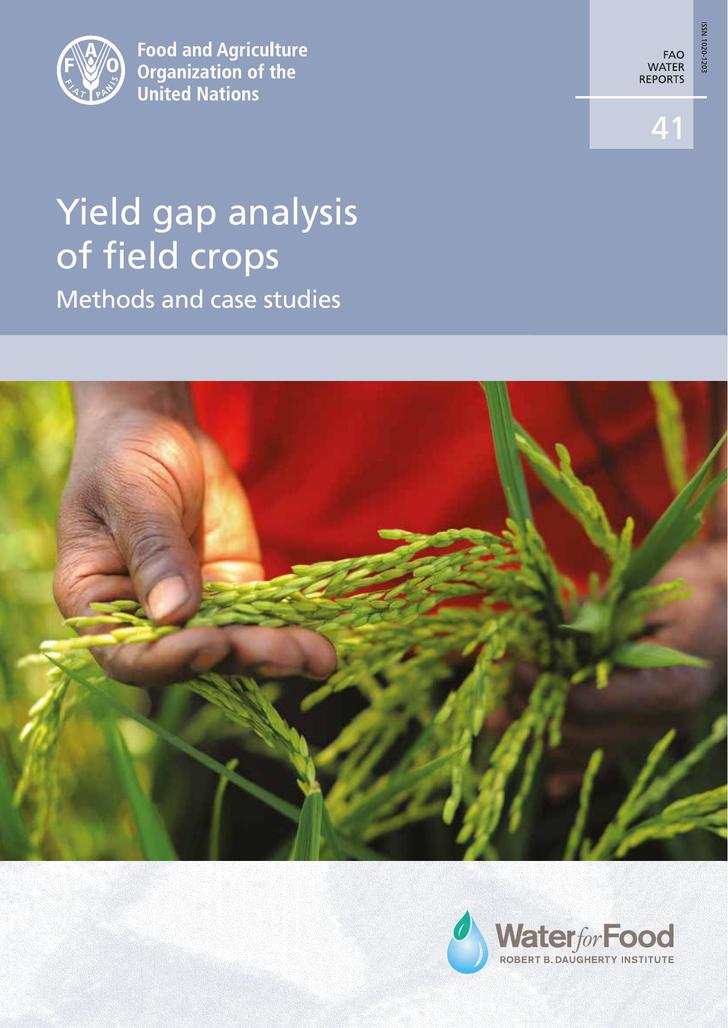 Yield Gap Analysis of Field Crops PDF Free Download