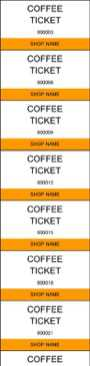 Download Coffee Ticket Template in Excel Page 3